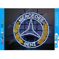 Wholesale Window Color Glass Mercedes Car Neon Sign Lamp with Screened Panel from china suppliers