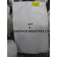 Wholesale Anti static CROHMIQ blue / white FIBC 1 Tonne Bulk Bags dissipative with no grounding from china suppliers