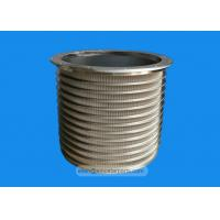 Quality corrugated paper making industry stainless steel wedge wire screen basket for sale