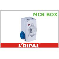 Wholesale Compact 4 Pole MCB Distribution Box for Agriculture / Construction Sites from china suppliers