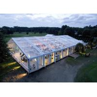 Wholesale Clear Transparent Roof Cover Wedding Event Tents With Clear Sidewall With Lighting from china suppliers