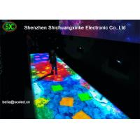 Wholesale Indoor P10 IR Camera Interactive Full Color Led Dance Floor Screen For Entertainment from china suppliers