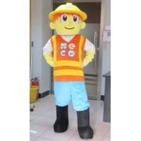 Wholesale Lovely bob the builder Cartoon mascot costumes with good ventilation from china suppliers