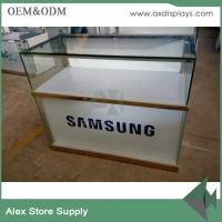 Buy cheap SAMSUNG mobile phone showcase glass display counter display showcase from wholesalers