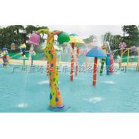 Wholesale Fiber Glass Spray Park Kids Snake Flower Water Fountain With Water Play from china suppliers