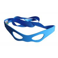 Wholesale Natural Material Masque Sleeping Eye Shades Blue Color With Woven Label Logo For Kids from china suppliers