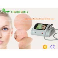 Wholesale Portable efficient Wrinkle removal machine / Skin resurfacing fractional rf microneedle face treatment from china suppliers