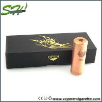 Wholesale Huge Power Copper Cartel Mechanical Mod E Cig Full Mechanical Mod from china suppliers