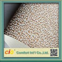 Wholesale 0.7mm Thick Waterproof Bag PVC Artificial Leather Embossed Synthetic from china suppliers