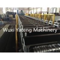 Wholesale Hydraulic Cutting Galvanised Roofing Sheet Metal Rolling Machine , PPGI Material Steel Roll Former Machine from china suppliers