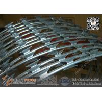 Wholesale 900mm O.D Concertina Razor Wire Cross Coil | BTO-30 Razor Wire China from china suppliers