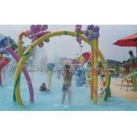 Wholesale Custom Fiberglass Rainbow Gallery Water Playground For Kids / Adults from china suppliers