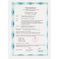 JL Industrial Supply Company Limited Certifications