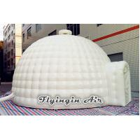 Quality 6m White Outdoor Inflatable Dome Tent, Inflatable Igloo Tent for Sale for sale