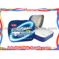 Wholesale Metal Tin Box Classic Hard Candy , Spearmint Sugar Free Fat Free Candy from china suppliers