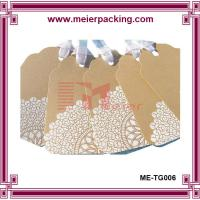 Wholesale White design kraft paper hang tags, apparel paper tags, shoe paper hang tags ME-TG006 from china suppliers