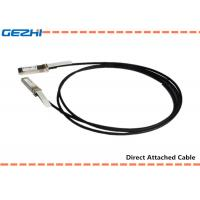 Wholesale 10G SFP+ to SFP+ DAC Cables Direct Attach Passive Copper Cable For Storage Area Networks from china suppliers