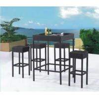 Wholesale outdoor furniture cover dinning set 1181-6181# from china suppliers
