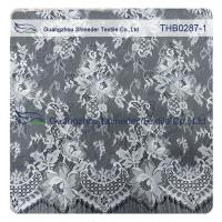 Wholesale Light Two-tones Colors Polyester & Nylon Chantilly Lace for Wedding & garment dress from china suppliers