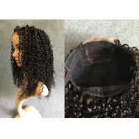 Wholesale 200% Density Lace Front Human Hair Wigs Machine Wefted Wig with Closure from china suppliers