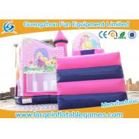 Wholesale High Performance Inflatable Princess Castle Bounce House Eco Friendly from china suppliers