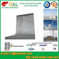Wholesale Steel Water Heat Boiler Water Wall , Waterwalls High Temp TUV Certification from china suppliers