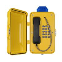 Wholesale IP67 Industrial Weatherproof Telephone With Beacon , PoE Powered Tunnel Phone from china suppliers