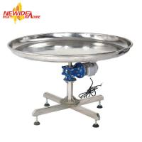 Wholesale Stainless Steel Turning Tray / Rotary Collecting Table For Packing Machine from china suppliers