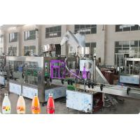 Wholesale Full Auto Glass Bottle Liquid Filling Machine , Fruit Juice Filler 8000 Bottles Per Hour High Speed from china suppliers
