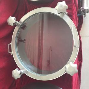 Wholesale Sanitary Stainless Steel Manway Door, Elliptical Manway Manlid from china suppliers