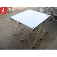 Wholesale Portable Aluminum Stage Platform 0.2 - 0.8m Height Efficiency Folding Stage from china suppliers