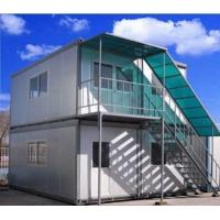 Quality Quick Installation Mobile Office Containers / Portable Modular Homes With Steel Structure for sale