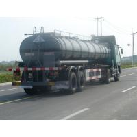 Wholesale 20000L-2 Axles-Aluminum Tanker Semi-Trailer for acetic acid from china suppliers