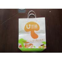 Quality Plastic Hand Non Woven Shopping Bag Recycled 18 gsm BOPP Film for sale