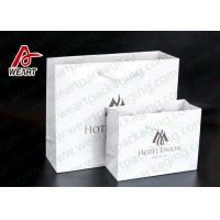 Quality Two Sizes Branded Custom Printed Paper Bags Promotional Use OEM / ODM for sale