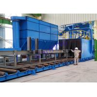 Wholesale Automatic Wheel Blast Machine With Roller Belt Conveyor System Eco - Friendly from china suppliers