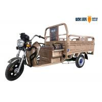Wholesale 1.6m Hopper Double Seats Electric Cargo Trike Drum Brake For Big Loading from china suppliers