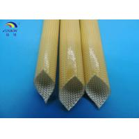 Wholesale Class F oil-resistant polyurethane fiberglass braided sleeving from china suppliers