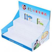 Wholesale 200G Craft paper POP Cardboard Counter Displays For Ball Pens , UV Coating from china suppliers