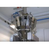 Full Automatic Pouch Packing Machine for Salt / Sugar Granule Filling High Speed