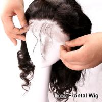 Wholesale Brazilian Virgin Body Wave Full / Front Lace Wig with Baby Hair For Black Women from china suppliers