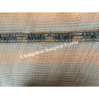 Quality Gray Fence Safety Barrier Mesh HDPE UV Stabilized 35gsm-150gsm for sale