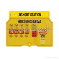 Wholesale ZC-S102 Lockout Station, Can Be Equipped With 5 Locks Or 10 Locks from china suppliers