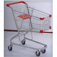 Wholesale PU Wheeled Grocery Shopping Trolley Powder Plated Climb Stairs Hand Cart from china suppliers