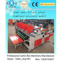 Wholesale Easy Operation Carton Folder Gluer Machine With Pressure Press Function from china suppliers