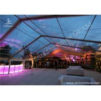 Wholesale Large Span Clear Top Outdoor Wedding Event Tent With Aluminum Alloy Profile from china suppliers
