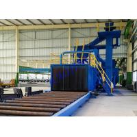 Wholesale H - Beam Blast Cleaning Machine , Bead Blasting Equipment For Surface Improving Treatment from china suppliers