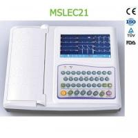 Wholesale 12-lead ECG recorders / Portable twelve lead ecg MSLEC21 for sale from china suppliers