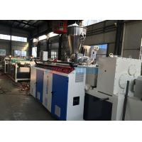 Wholesale Walling / Roofing Panel Durable Double Screw Extruder For Corrugated Sheet Making from china suppliers