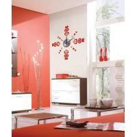 Wholesale Heart Acrylic Vinyl Wall Sticker Designer Wall Clocks 10D055  from china suppliers